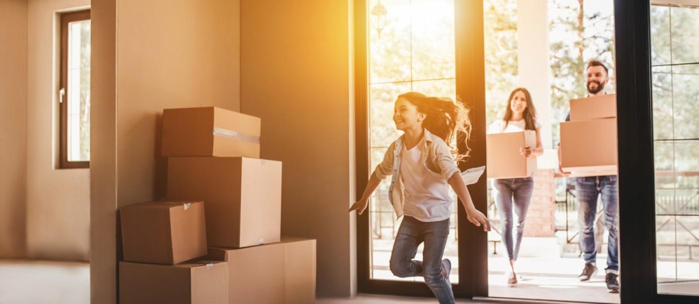 Nous pouvons vous aider à emménager dans la nouvelle maison